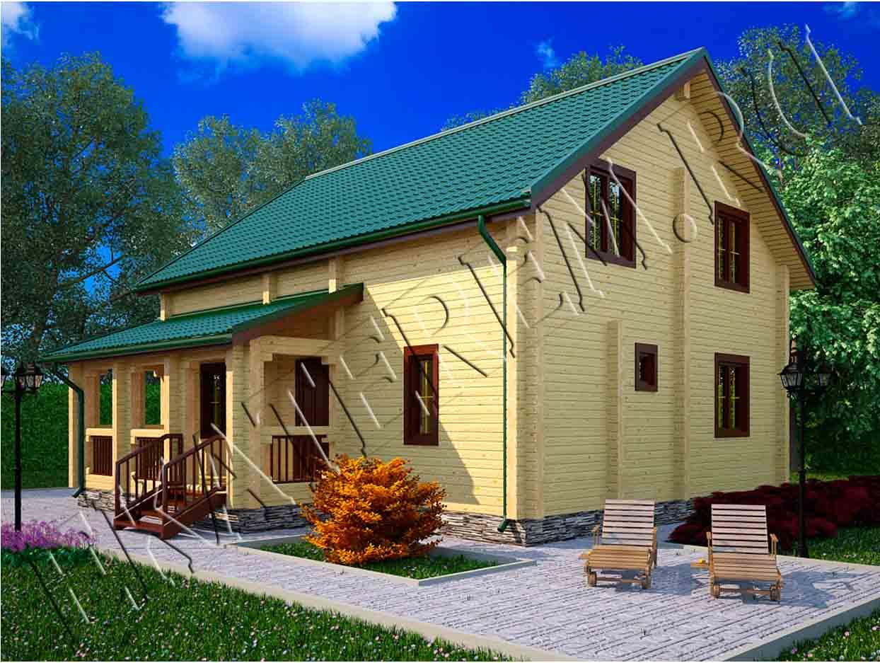 Проекты деревянных домов-Проекты домов коттеджей дач бань