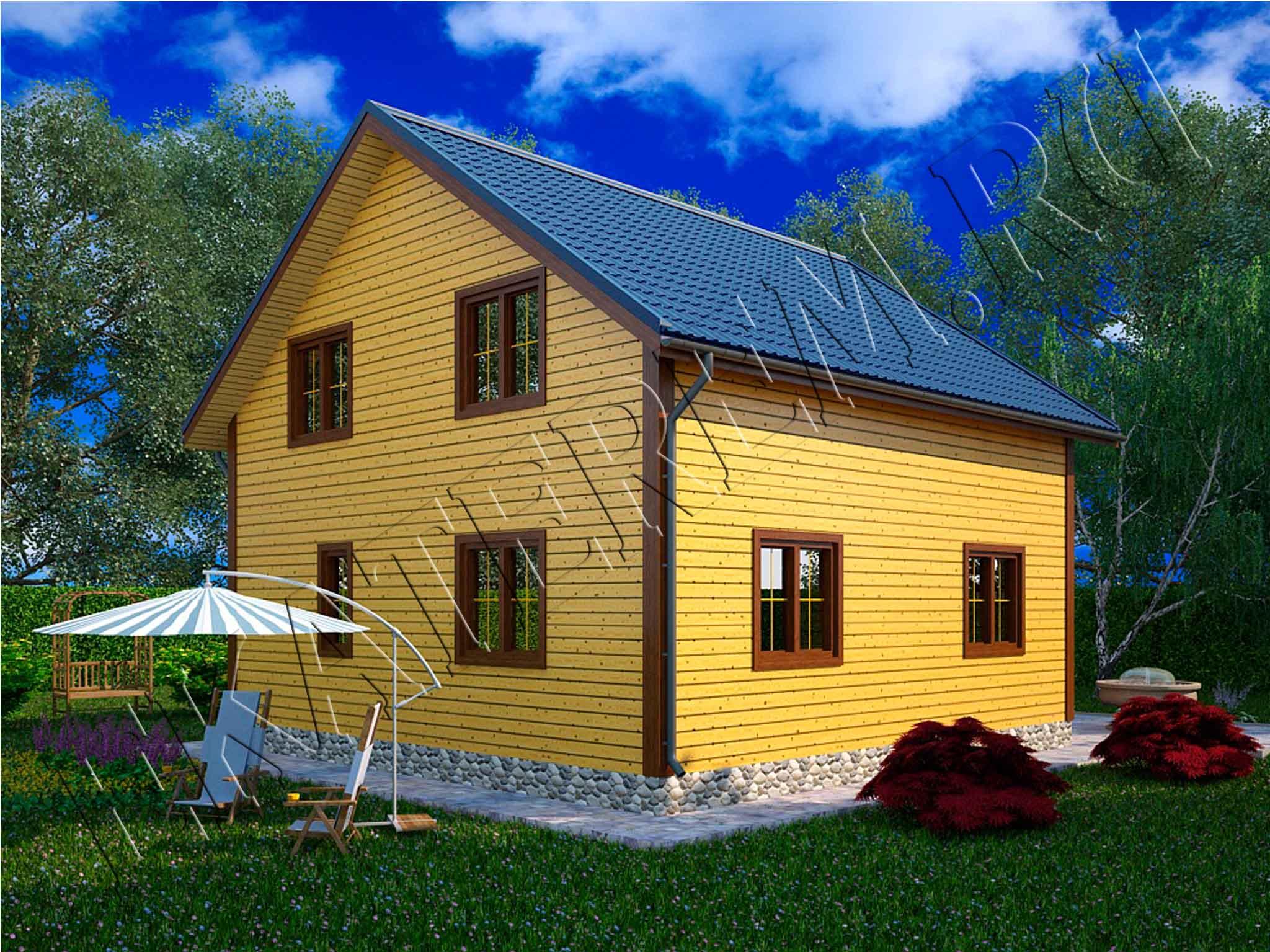 Дома из кирпича - woodhru