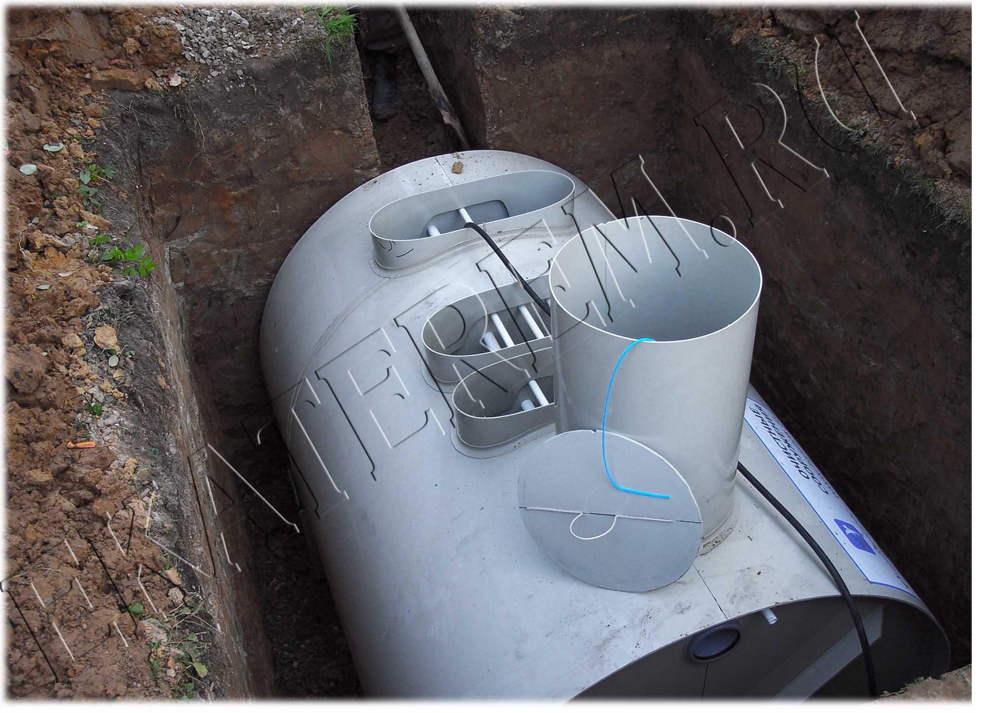 Как сделать канализацию в своем доме своими руками их бочки