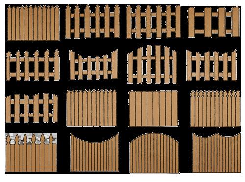 Забор из картона своими руками для поделки 8